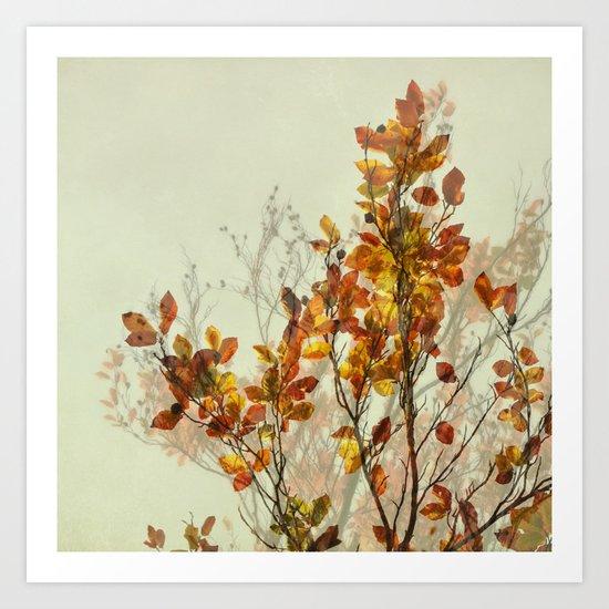 autumn symphonies I Art Print