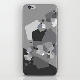 Grayish - Abstract #society6 #decor #buyart iPhone Skin