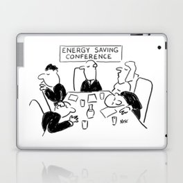 Energy Saving Conference Laptop & iPad Skin