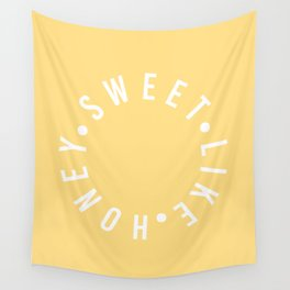 sweet like honey Wall Tapestry