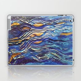 Abstract nautical background Laptop & iPad Skin
