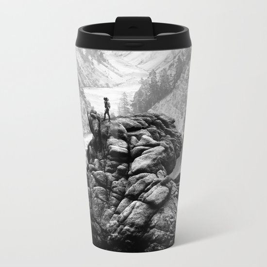 I will come to your river Metal Travel Mug