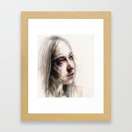 Something Profound Framed Art Print
