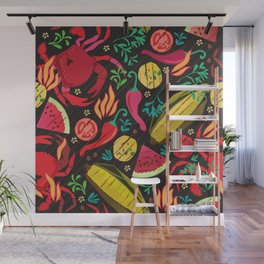 Grilled Wall Mural