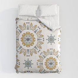 Sacred Esoteric Quartz Crystal Candle Magic Comforters