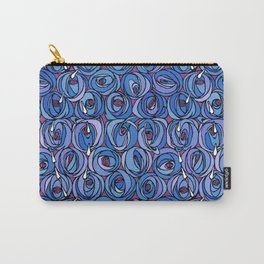 "Charles Rennie Mackintosh ""Roses and teardrops"" edited 5. Carry-All Pouch"