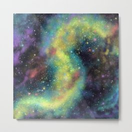 Cosmic dust Metal Print