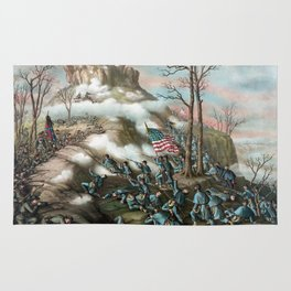 The Battle of Lookout Mountain Rug