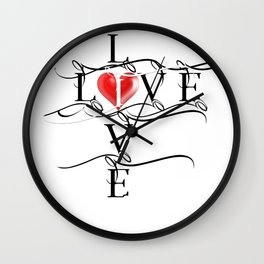 Love Live Wall Clock