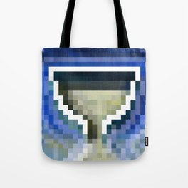 Poseidon's Pixel Cup Tote Bag