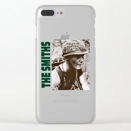 The Sound Of The Smiths Clear iPhone Case