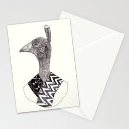 The great Moa Chief Stationery Cards