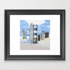 In Between Sea & Sky Framed Art Print