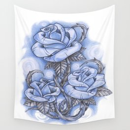 ROSES Wall Tapestry