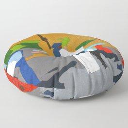 Mrs. Rose Floor Pillow