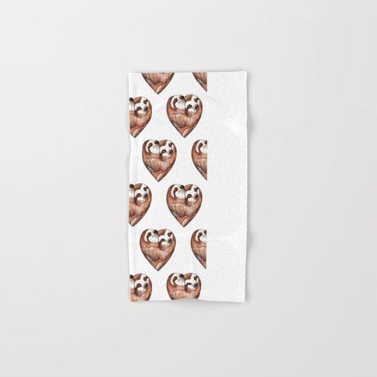 sloth love Hand & Bath Towel