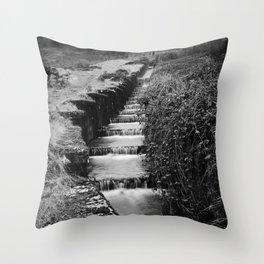 Blaen Bran, Cwmbran, South Wales, UK - 06 Throw Pillow