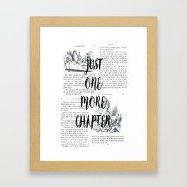 One More Chapter Framed Art Print