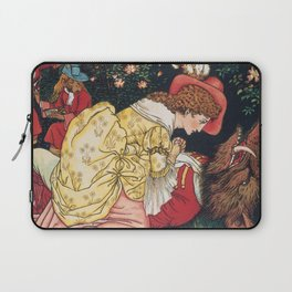 Beauty and the beast - Belle Mourns the beast Laptop Sleeve