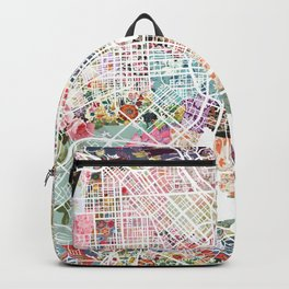 Baltimore map Backpack
