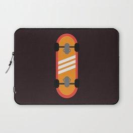 Orange Skateboard Laptop Sleeve