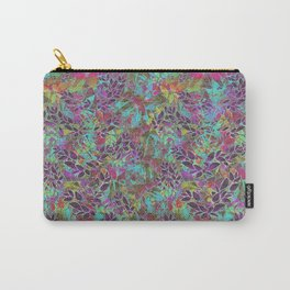 Grunge Art Floral Abstract G124 Carry-All Pouch