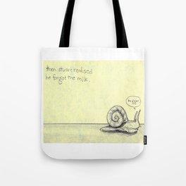 Snail Milk Tote Bag