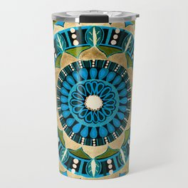 Sprouting Seeds Mandala Travel Mug