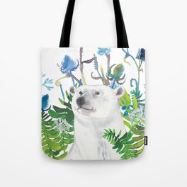 fern bear Tote Bag