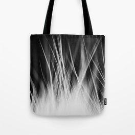 White Static Tote Bag