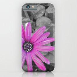 Purple Shot iPhone Case