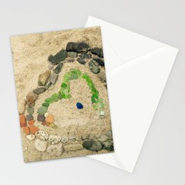 Beach lover Stationery Cards