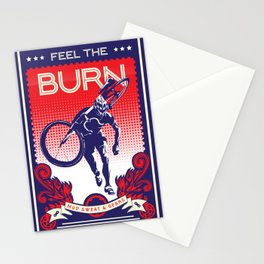 Feel the Burn Stationery Cards