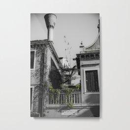 Al Vaporetto Venice italy Metal Print