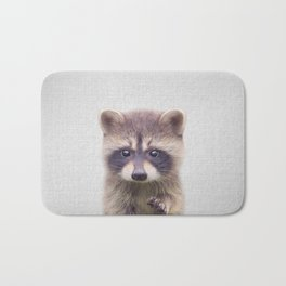 Raccoon - Colorful Bath Mat