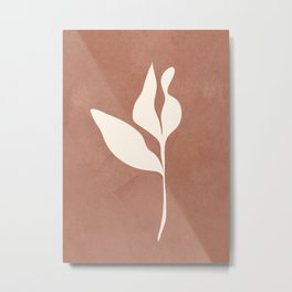 Little Leaves III Metal Print