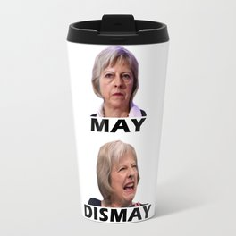 Theresa May UK Election Travel Mug