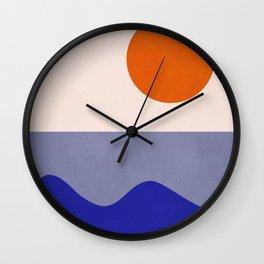 abstract minimal 50 Wall Clock