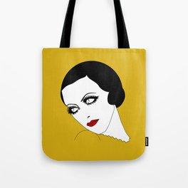 Glance (mustard yellow) Tote Bag
