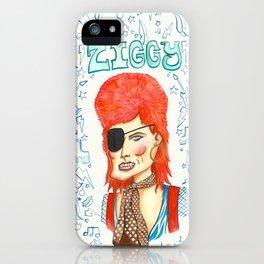 Ziggy Stardust. iPhone Case