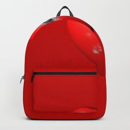 Heart Series Love Bullet Holes Love Valentine Anniversary Birthday Romance Sexy Red Hearts Valentine Backpack