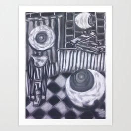Webcam Watch Art Print