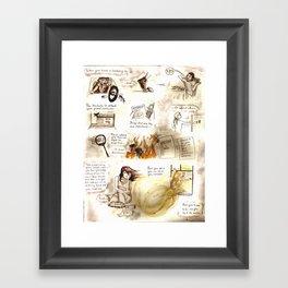 Psyche Framed Art Print