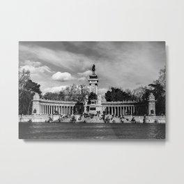 Parque del Retiro Metal Print