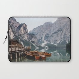 Day at the Mountain Lake Laptop Sleeve