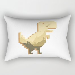 Jurassic Offline Rectangular Pillow