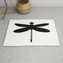 Bugs: abstract Dragonfly Rug