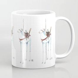 Numero 7 -Cosi che cavalcano Cose - Things that ride Things- NUOVA SERIE - NEW SERIES Coffee Mug