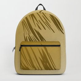 Design exotic gold lines, wild Backpack
