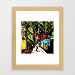 Run! Framed Art Print